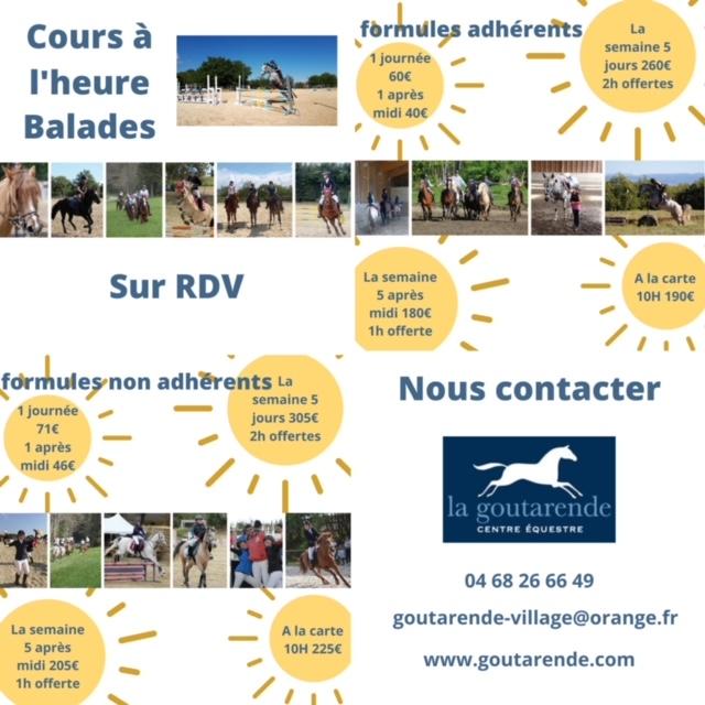 stage équitation été 2021 carcassonne mazamet